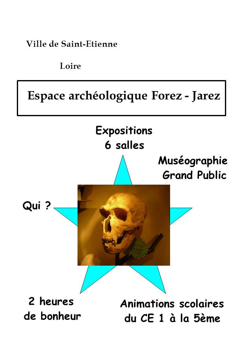 Espace archéologique Forez - Jarez