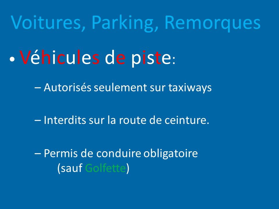 Voitures, Parking, Remorques