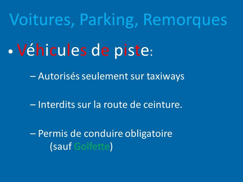 Voitures, Parking, Remorques