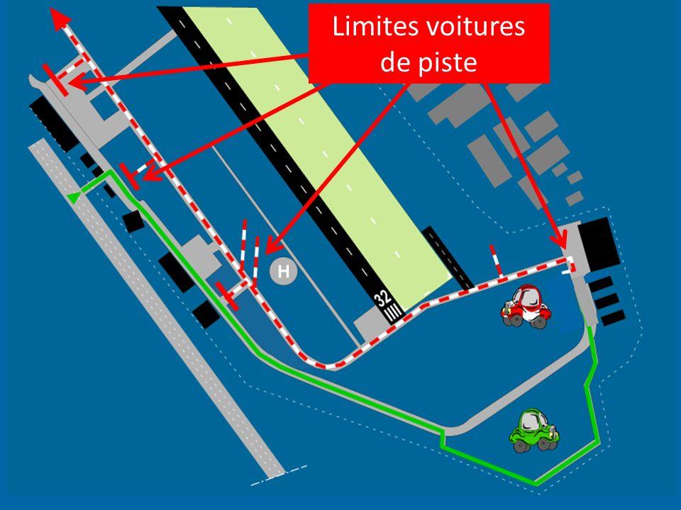 Limites voitures de piste