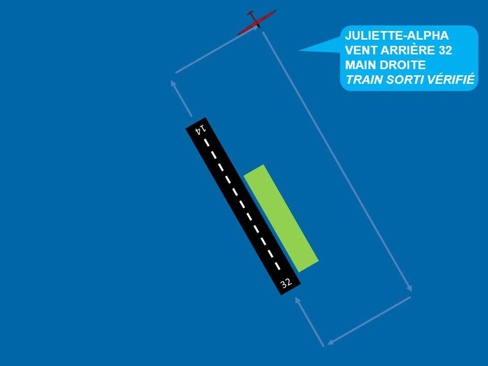 JULIETTE-ALPHA VENT ARRIÈRE 32 MAIN DROITE TRAIN SORTI VÉRIFIÉ 32 14
