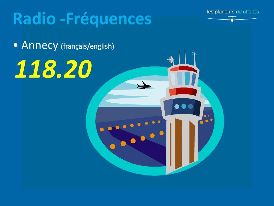Radio -Fréquences • Annecy (français/english) 118.20