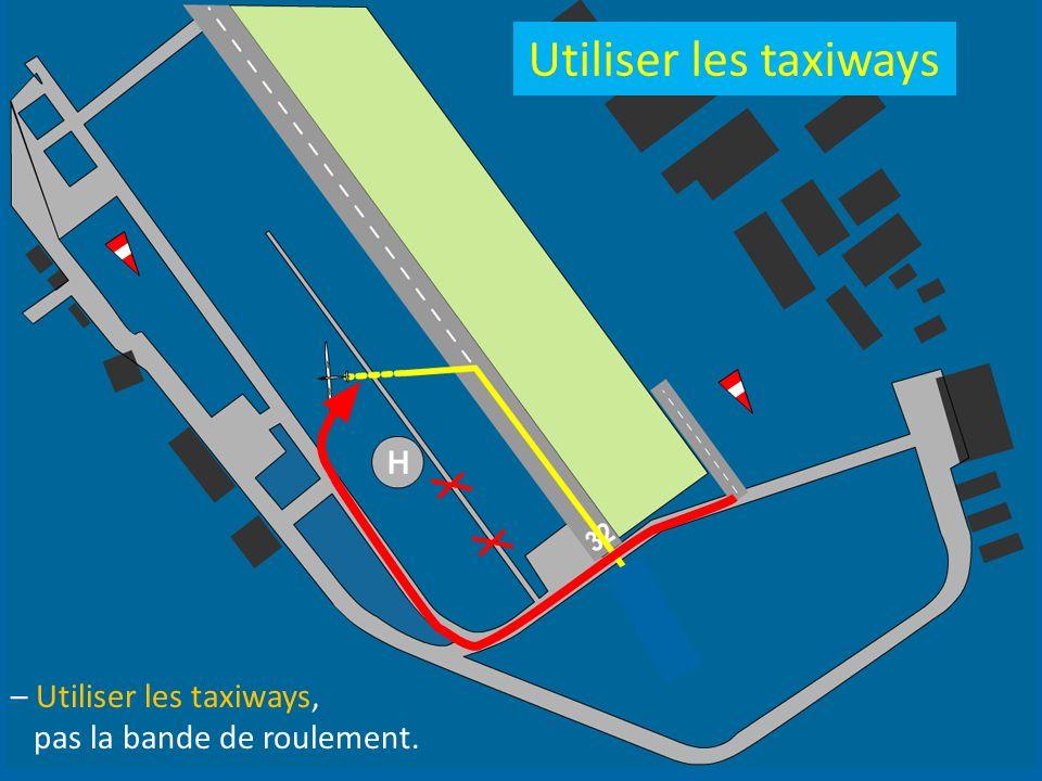 Utiliser les taxiways – Utiliser les taxiways,