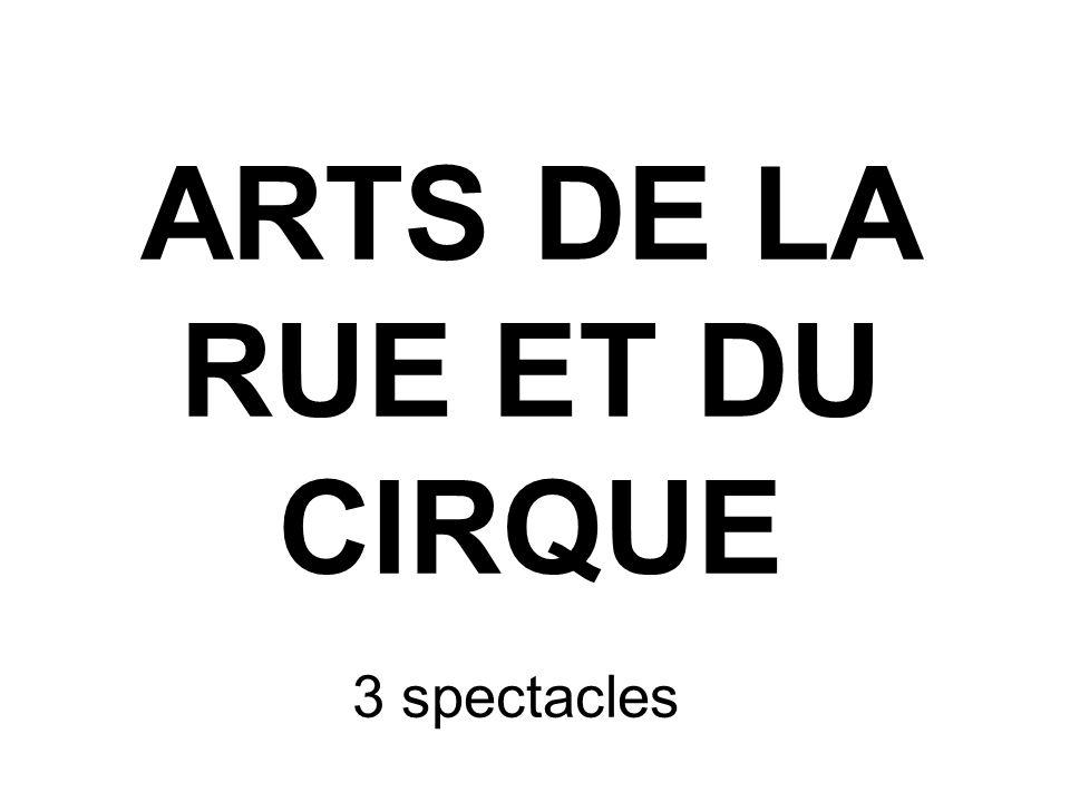 ARTS DE LA RUE ET DU CIRQUE