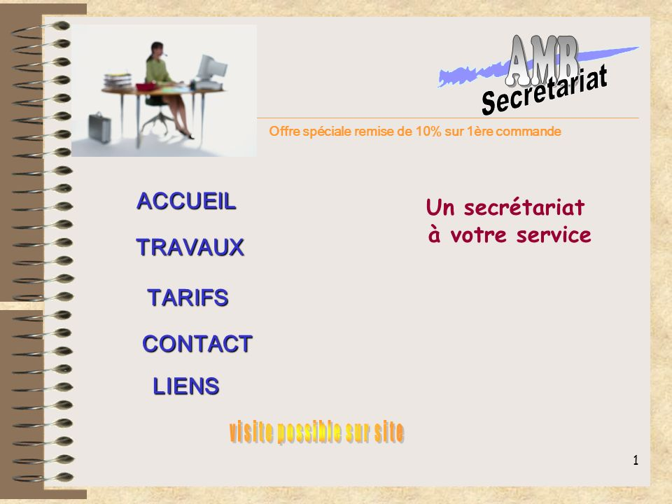 visite possible sur site