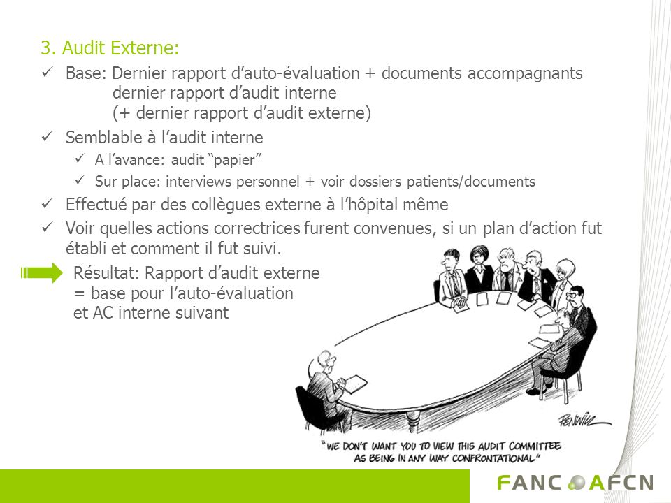 3. Audit Externe:
