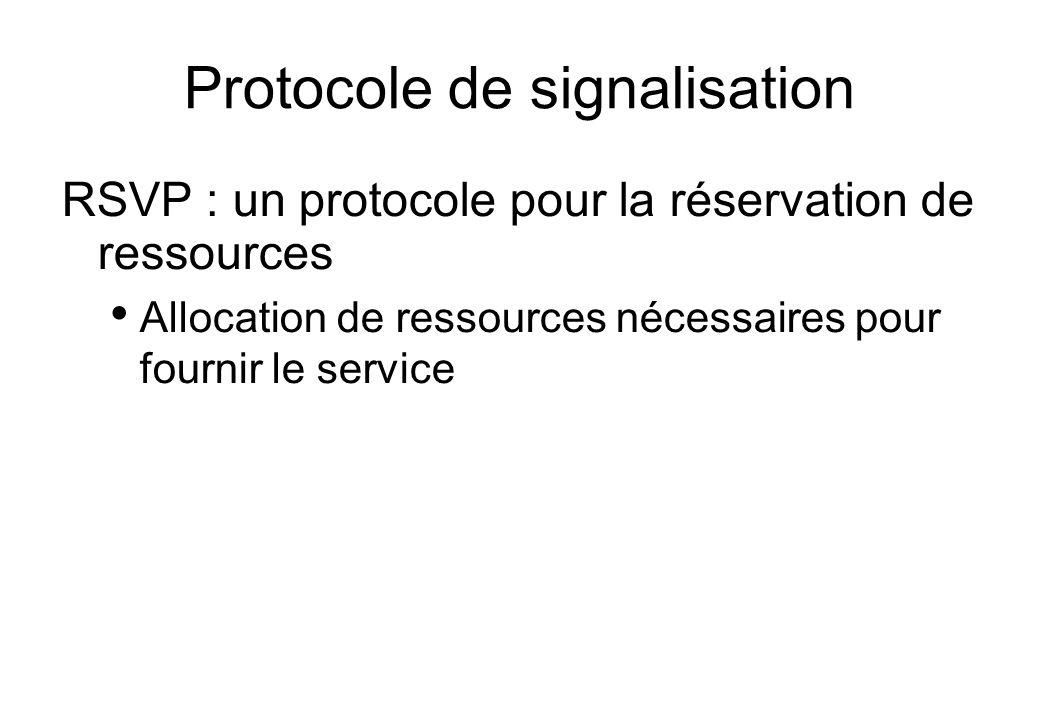 Protocole de signalisation