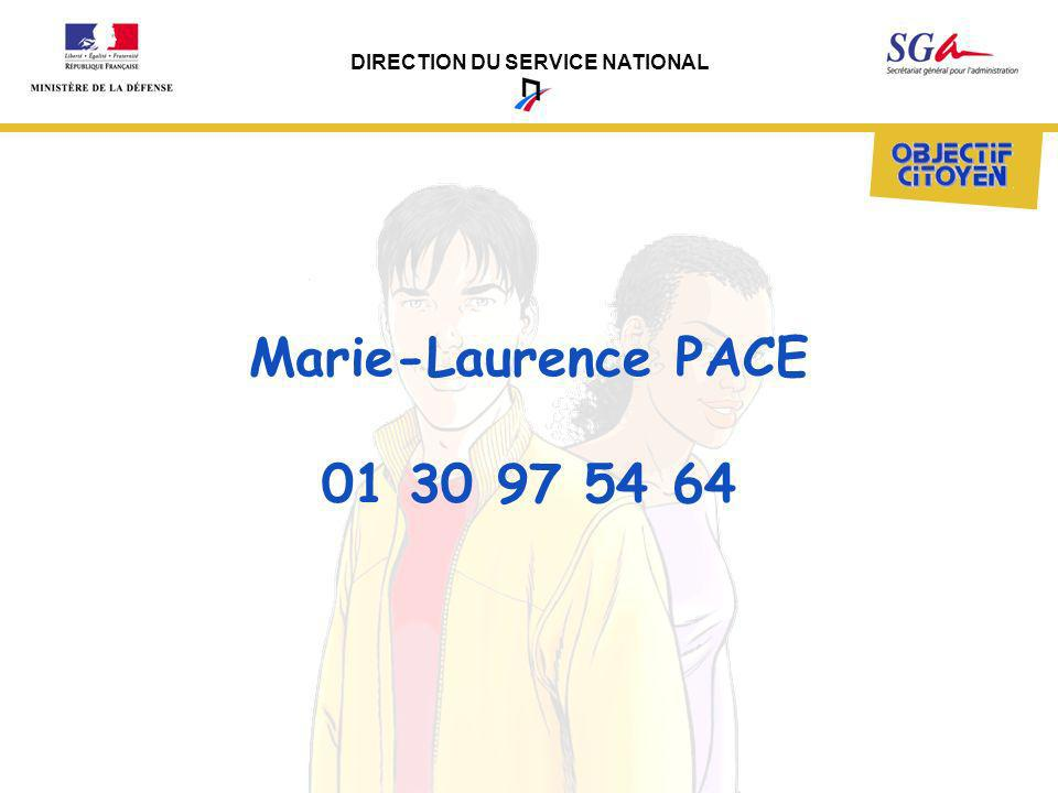 Marie-Laurence PACE 01 30 97 54 64
