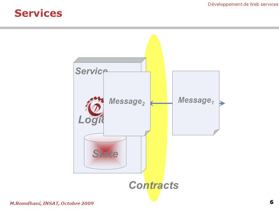 Chapitre 5 - Développement de Web services XML