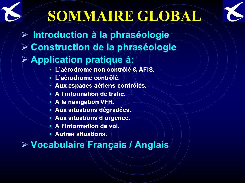SOMMAIRE GLOBAL Introduction à la phraséologie