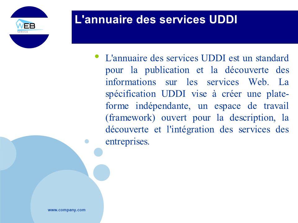 L annuaire des services UDDI