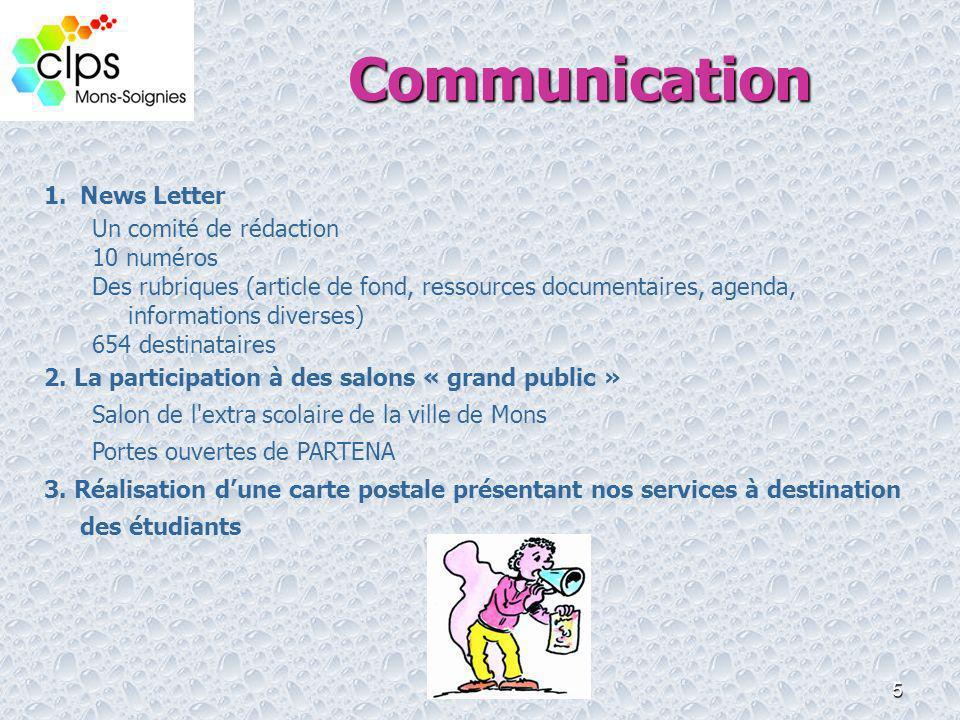 Communication News Letter Un comité de rédaction 10 numéros