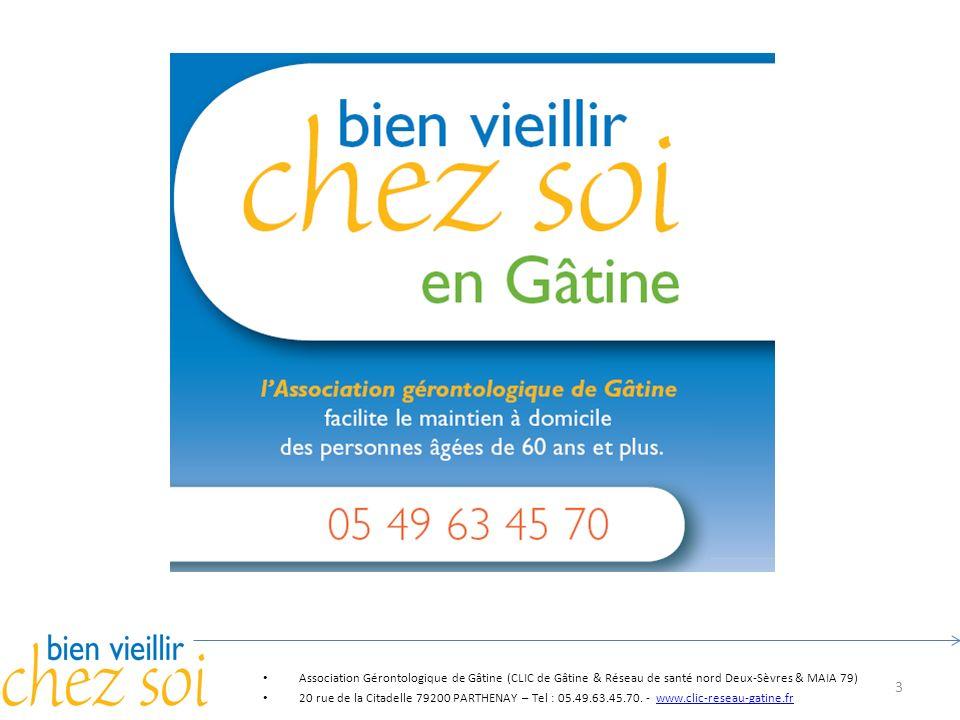 Pascal Association Gérontologique de Gâtine (CLIC de Gâtine & Réseau de santé nord Deux-Sèvres & MAIA 79)
