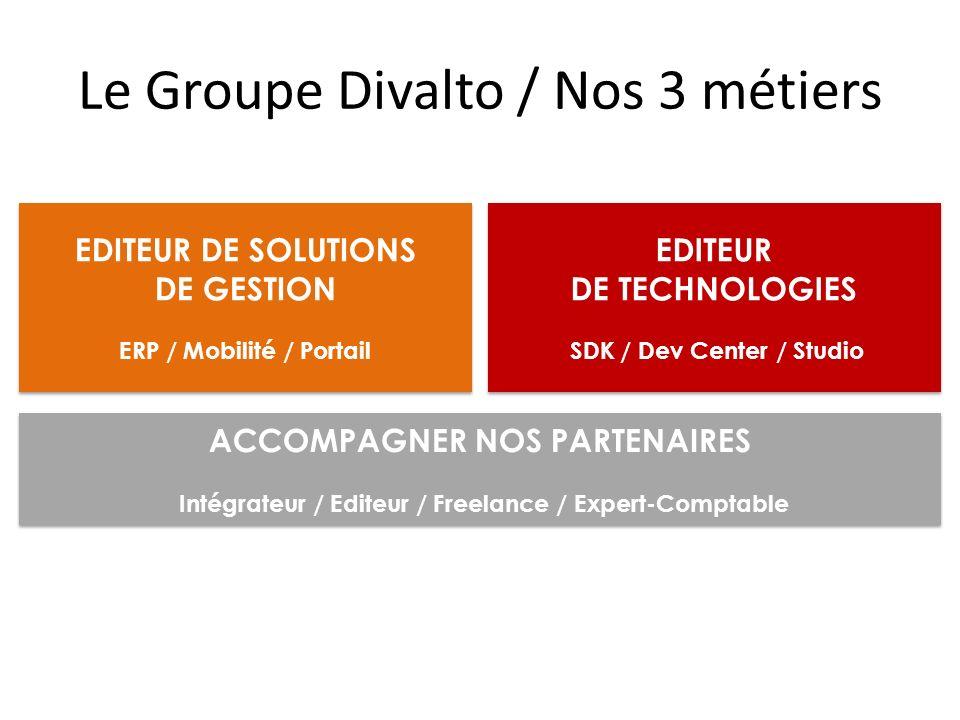 Le Groupe Divalto / Nos 3 métiers