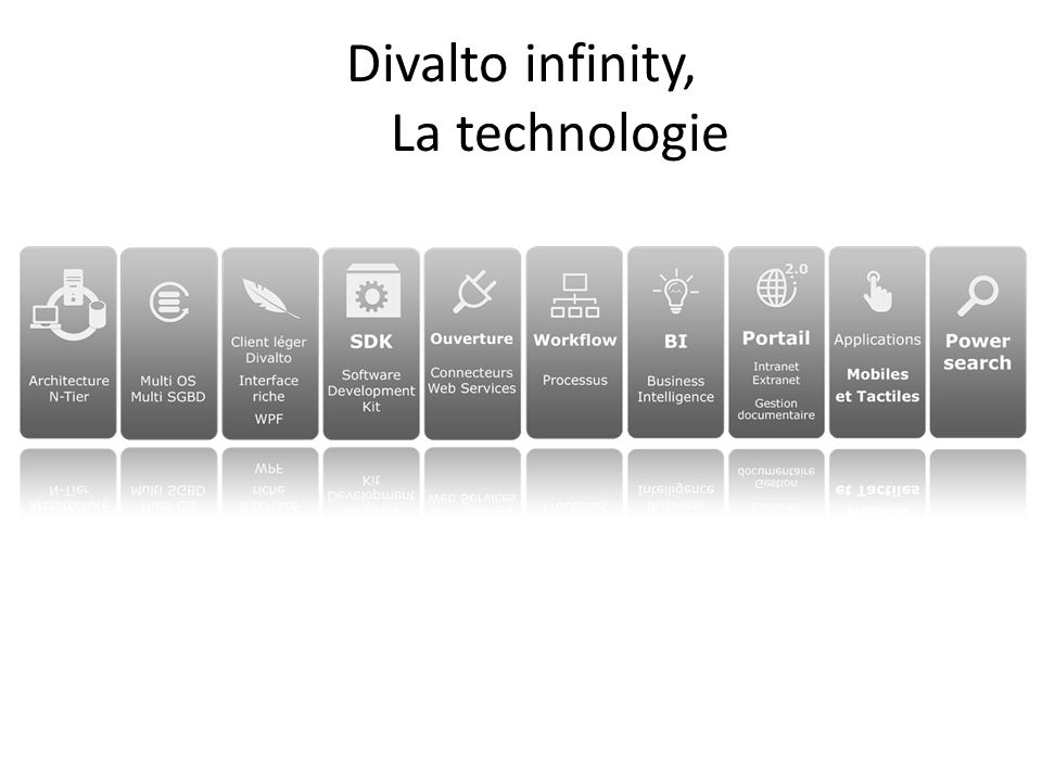 Divalto infinity, La technologie