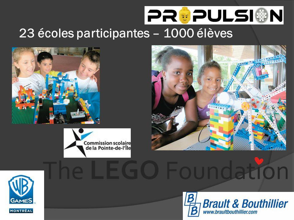 23 écoles participantes – 1000 élèves