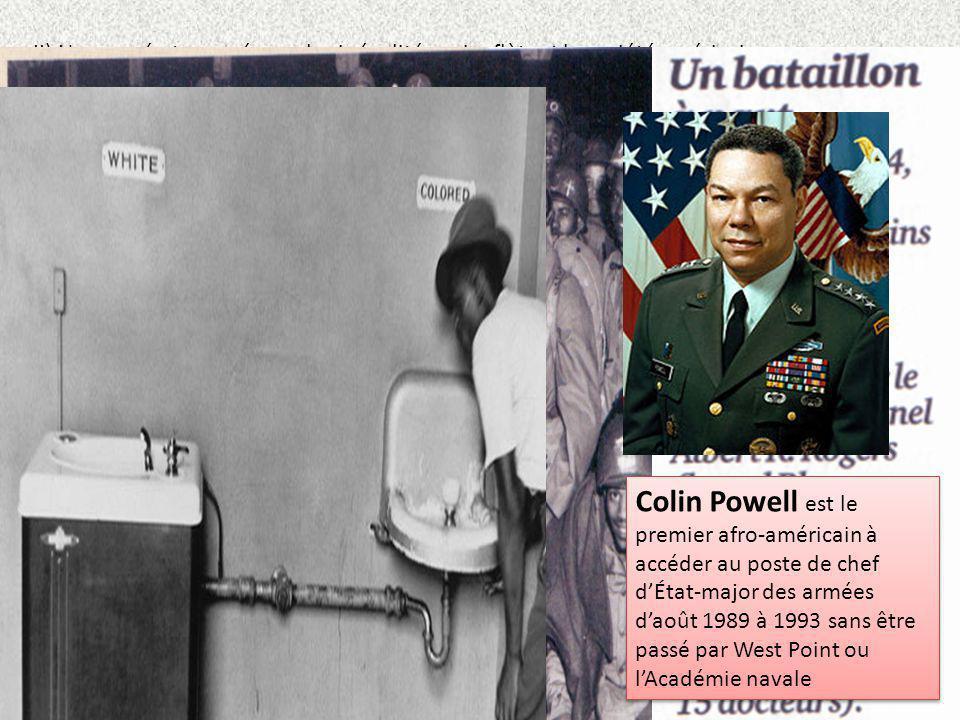 II) Une armée traversée par les inégalités qui reflètent la société américaine