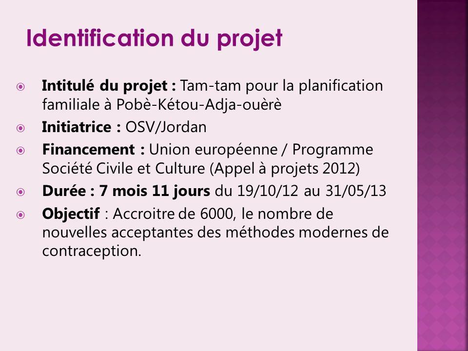Identification du projet
