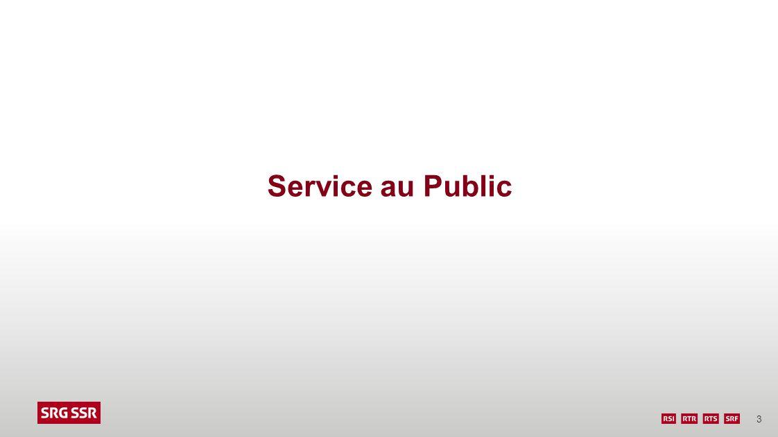 Service au Public