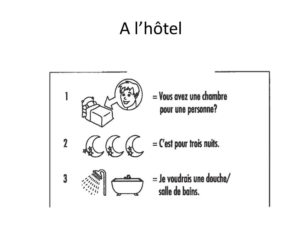 A l'hôtel