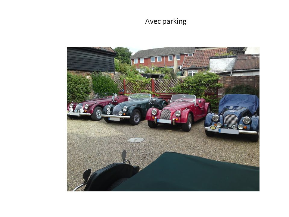 Avec parking