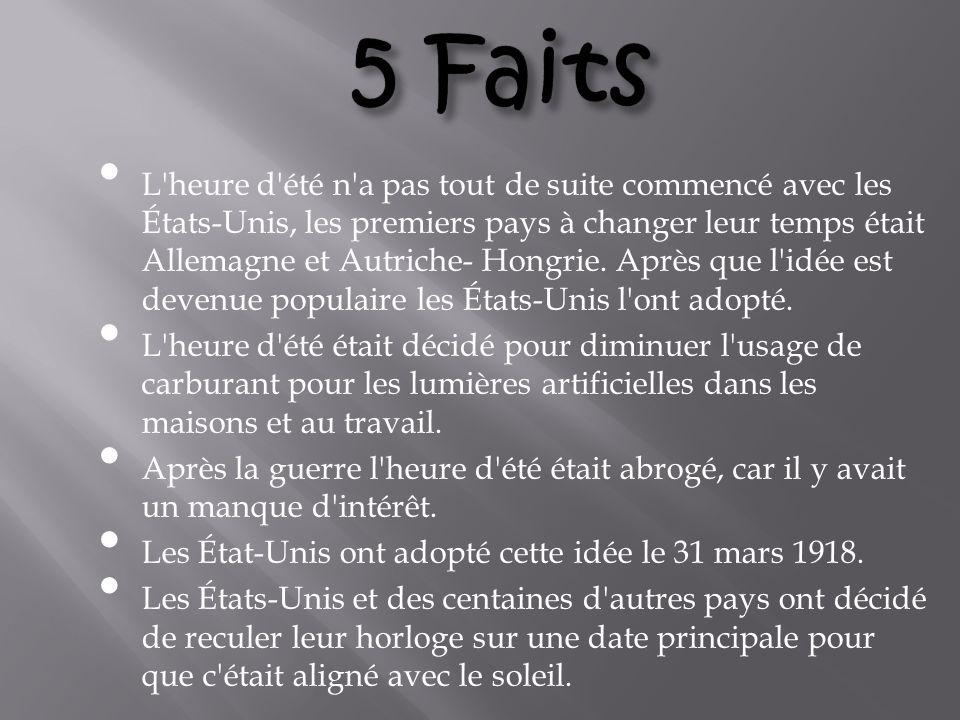 5 Faits
