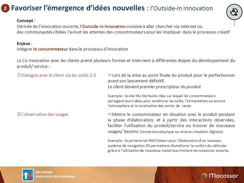 Favoriser l'émergence d'idées nouvelles : l'Outside-in Innovation