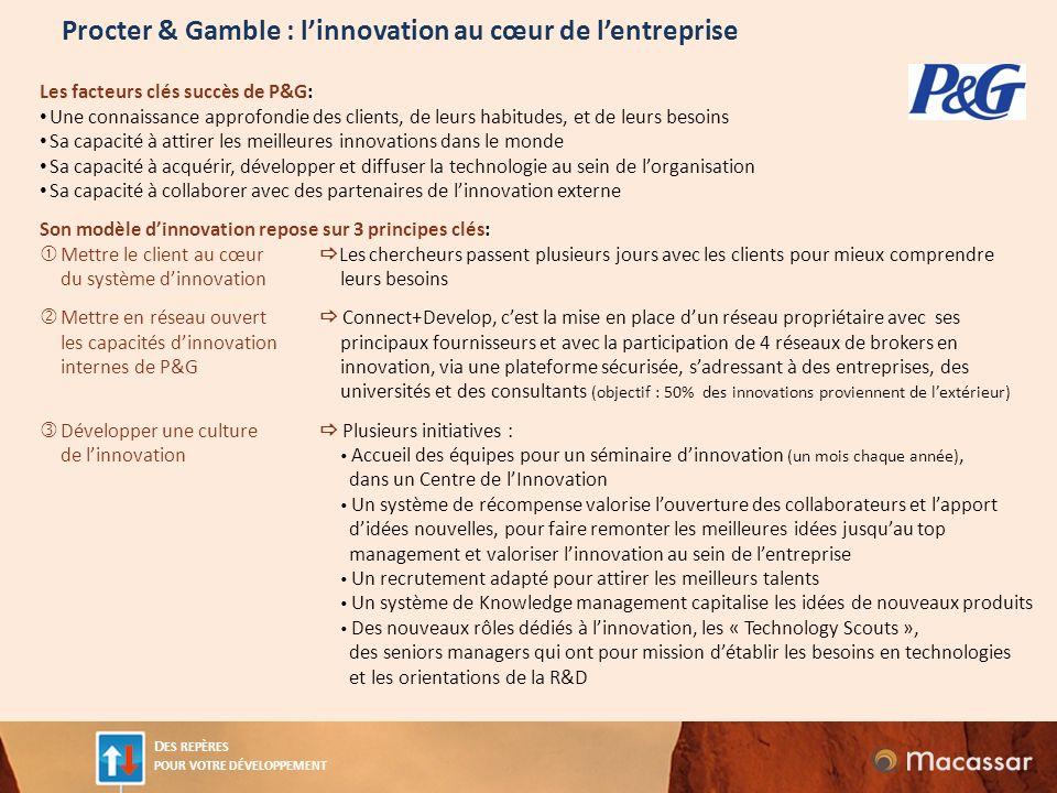 Procter & Gamble : l'innovation au cœur de l'entreprise
