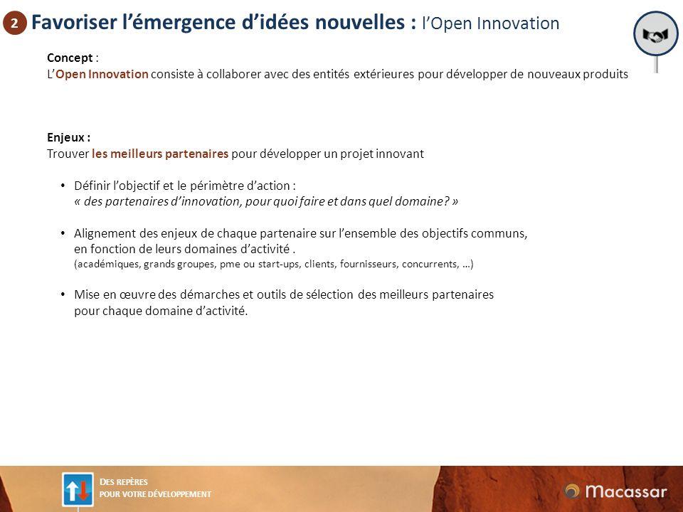 Favoriser l'émergence d'idées nouvelles : l'Open Innovation