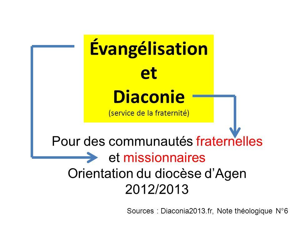 Diaconie (service de la fraternité)