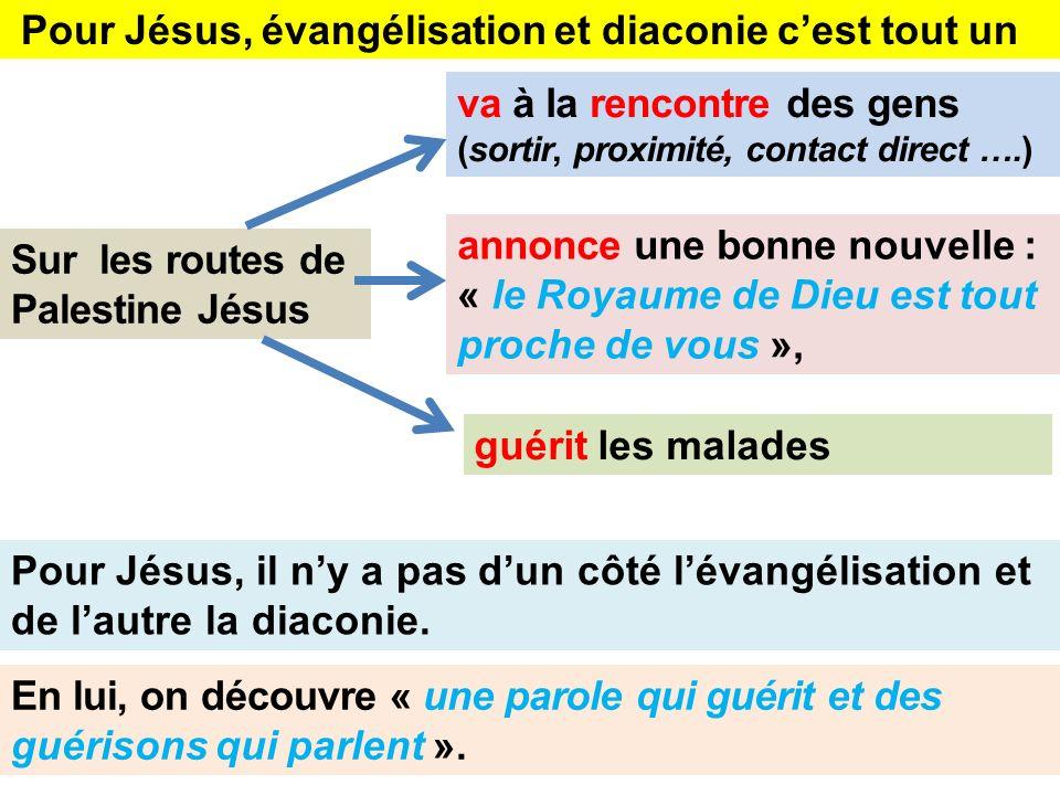 Pour Jésus, évangélisation et diaconie c'est tout un