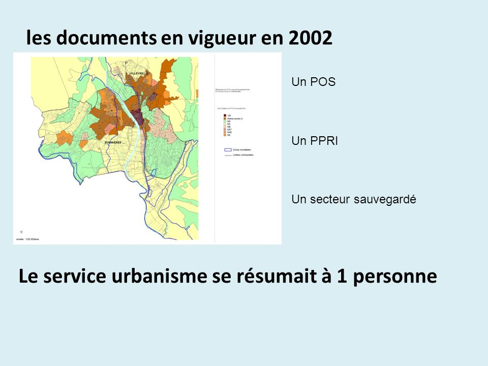 les documents en vigueur en 2002