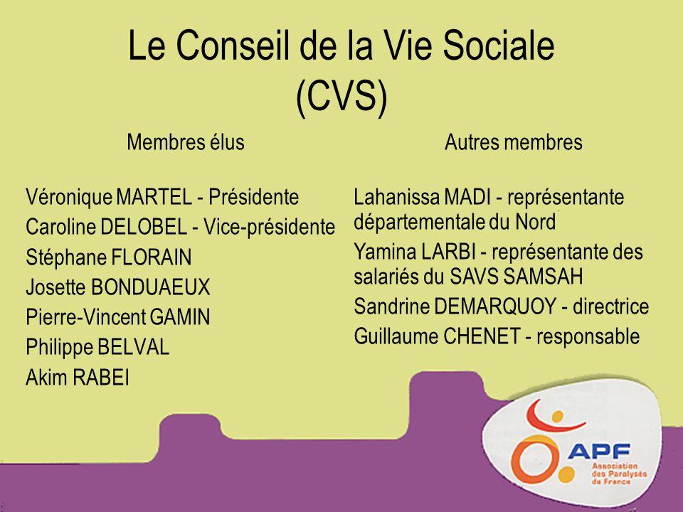 Le Conseil de la Vie Sociale (CVS)