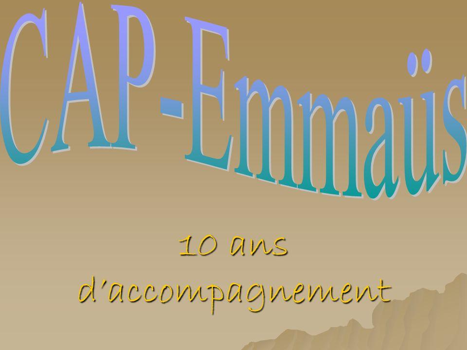 CAP-Emmaüs 10 ans d'accompagnement