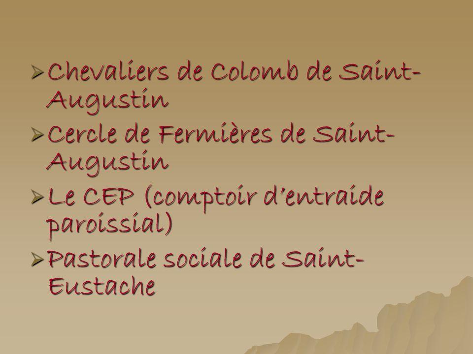 Chevaliers de Colomb de Saint-Augustin