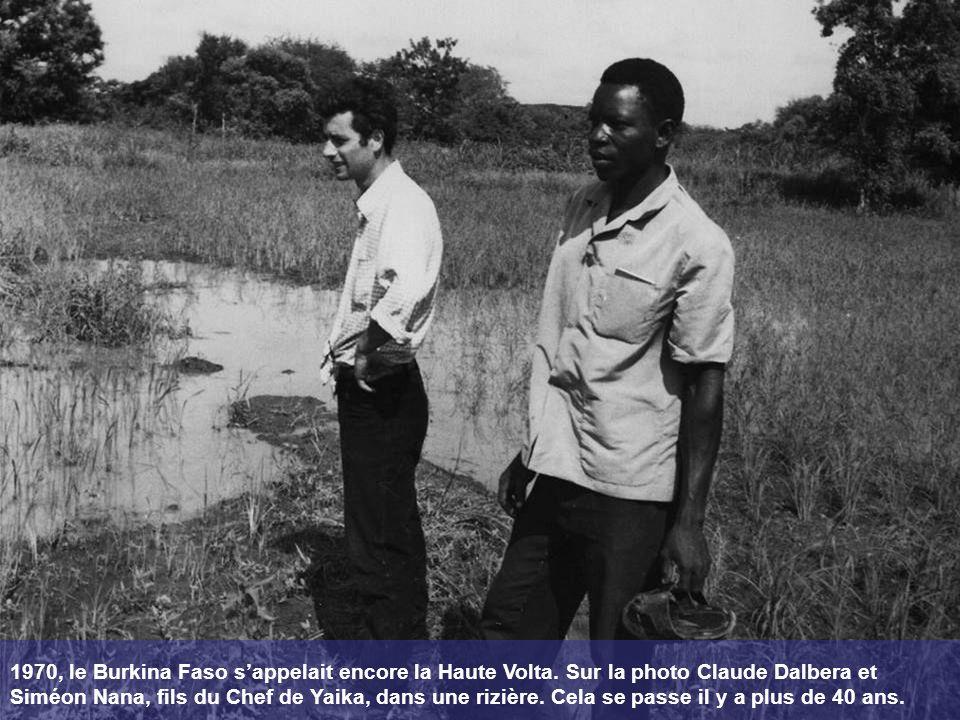 1970, le Burkina Faso s'appelait encore la Haute Volta