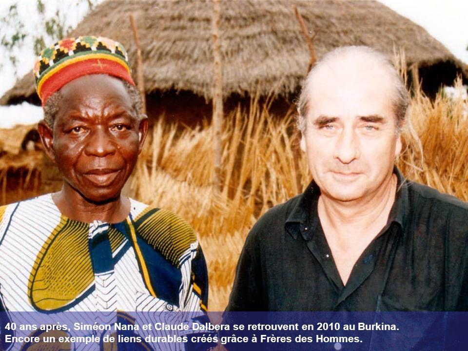40 ans après, Siméon Nana et Claude Dalbera se retrouvent en 2010 au Burkina.
