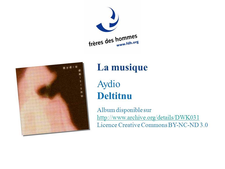 La musique Aydio Deltitnu