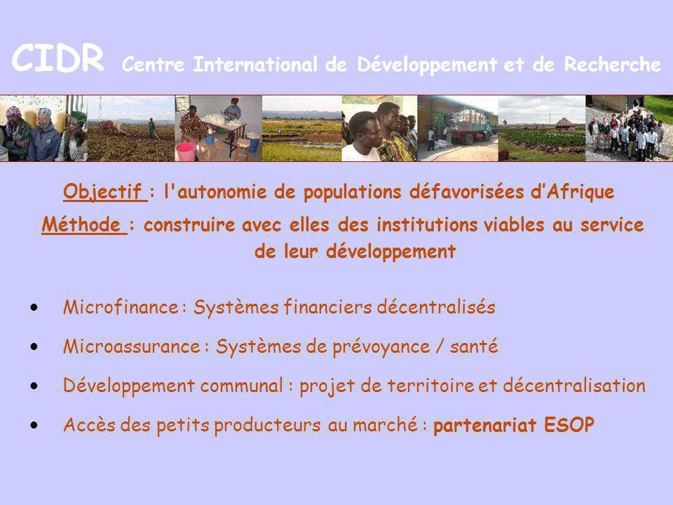 CIDR Centre International de Développement et de Recherche