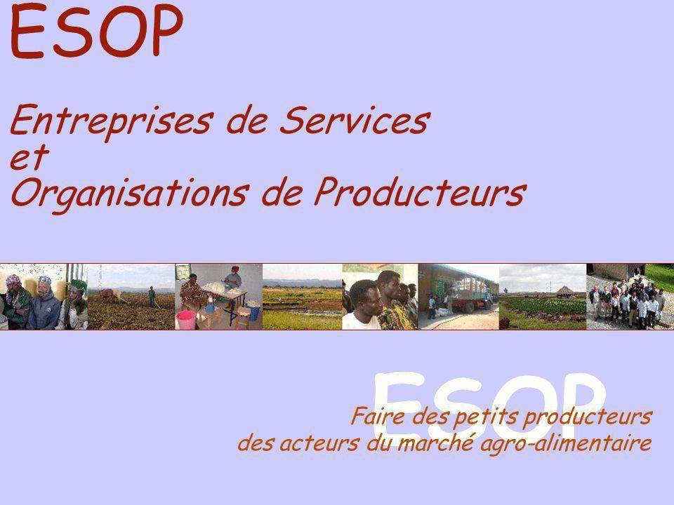 ESOP ESOP Entreprises de Services et Organisations de Producteurs