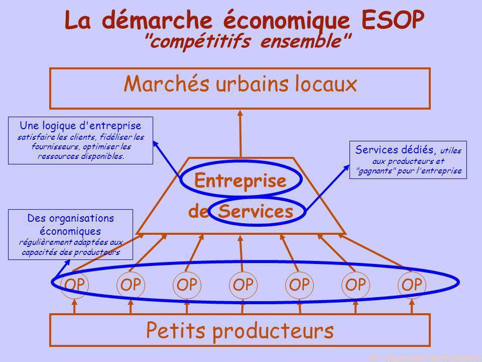 La démarche économique ESOP compétitifs ensemble