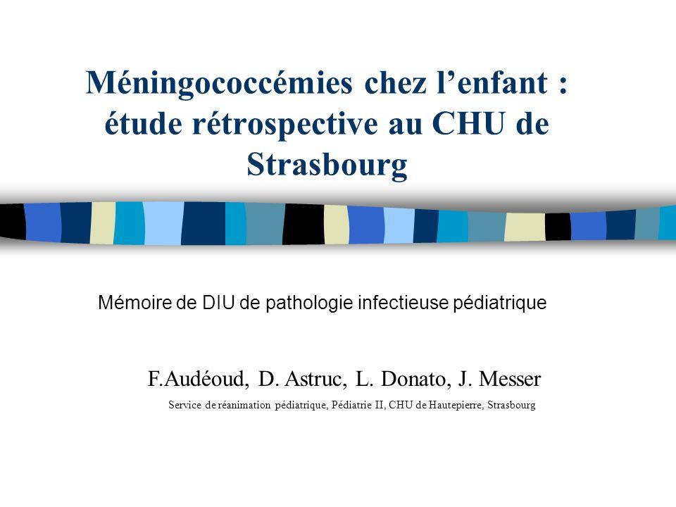 Mémoire de DIU de pathologie infectieuse pédiatrique