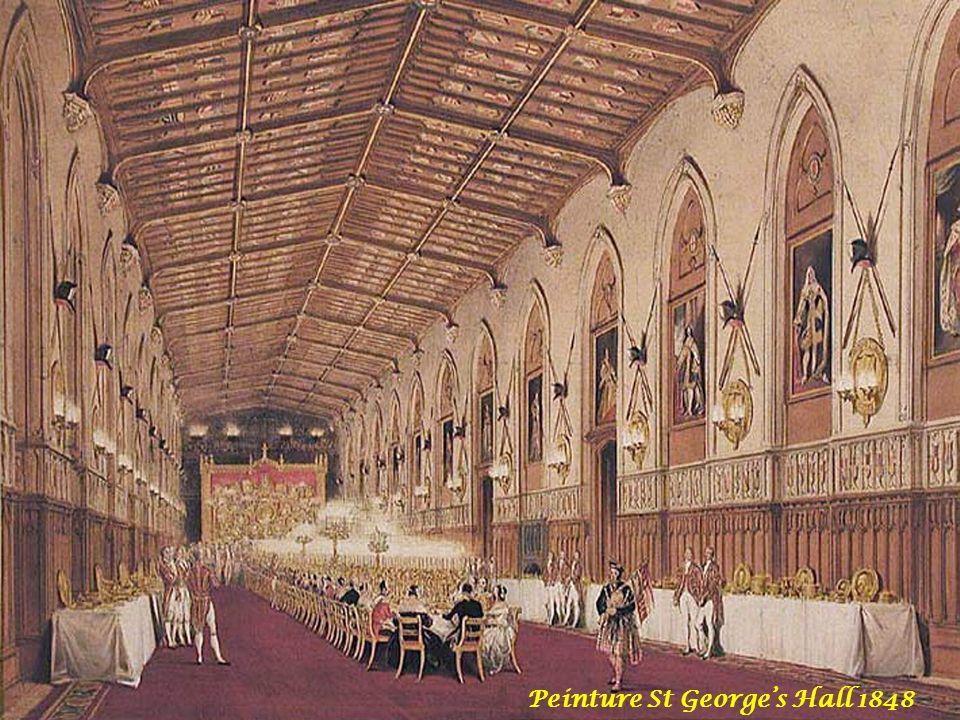 Peinture St George's Hall 1848