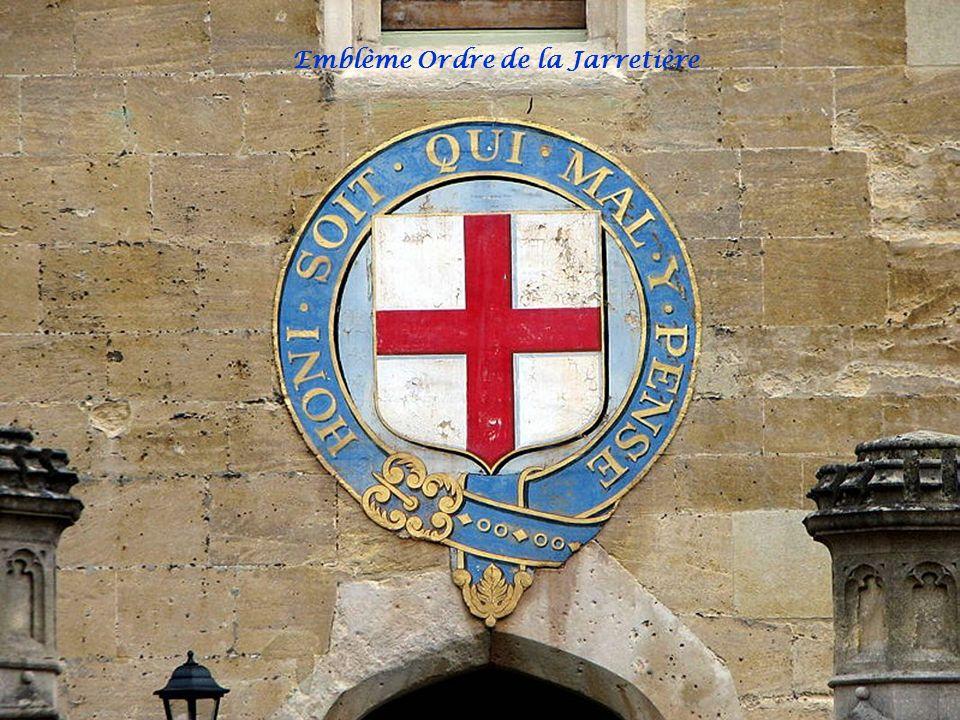 L'ordre de la Jarretière Emblème Ordre de la Jarretière