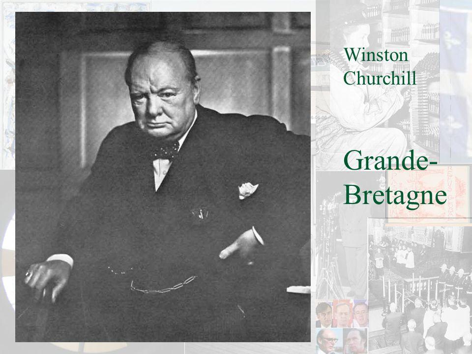 Winston Churchill Grande-Bretagne