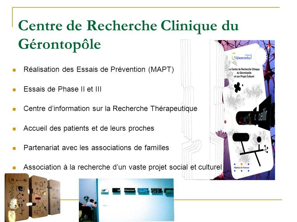 Centre de Recherche Clinique du Gérontopôle