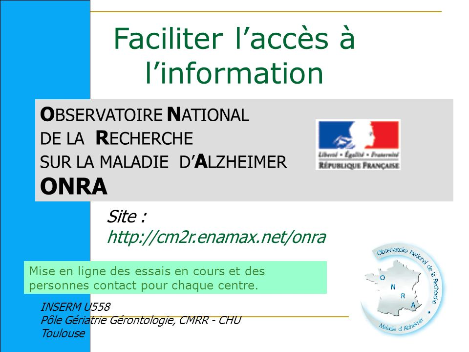 Faciliter l'accès à l'information