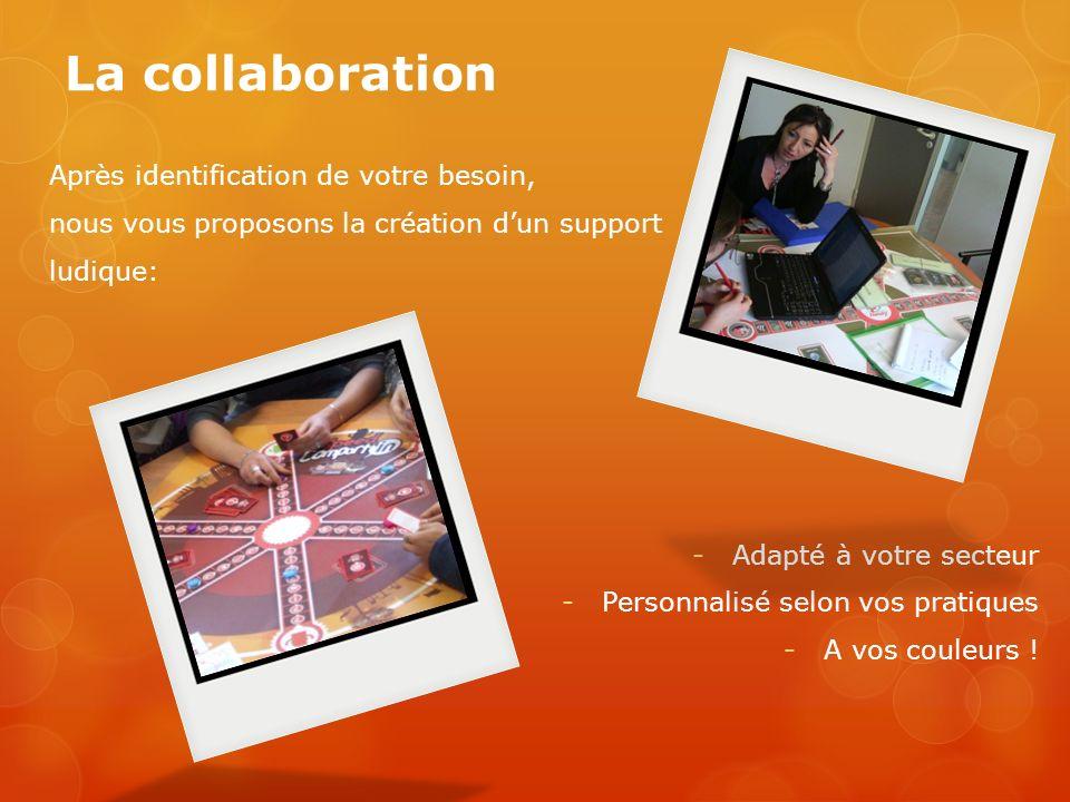 La collaboration Après identification de votre besoin,
