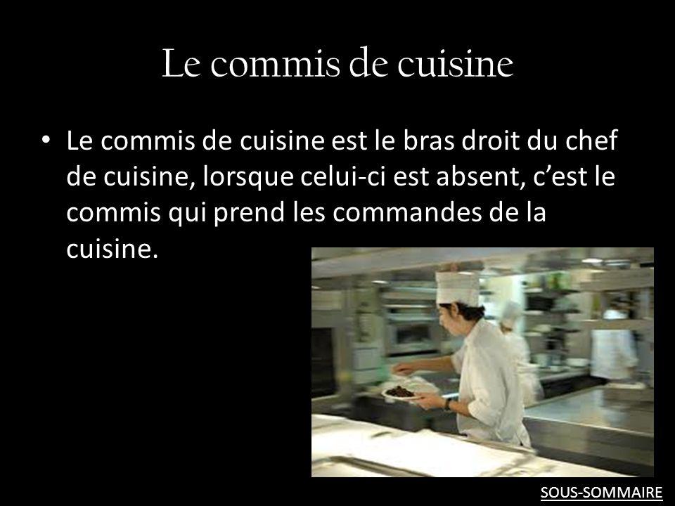 Pr sentation de la visite l h tel comfort h tel par for Annonce commis de cuisine