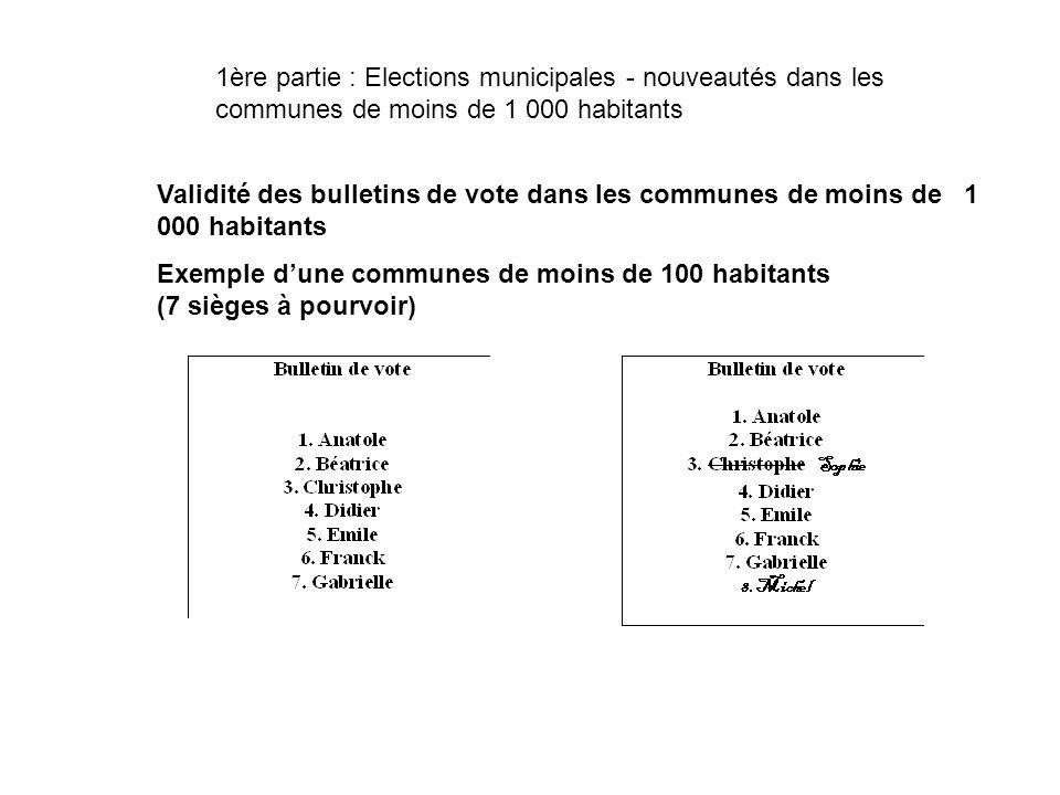Exemple d'une communes de moins de 100 habitants (7 sièges à pourvoir)